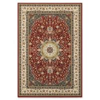 Oriental Weavers Kashan Woven 2'3 x 7'6 Area Rug in Red