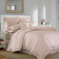 Laura Ashley Annabella Duvet Cover Set in Pastel Pink