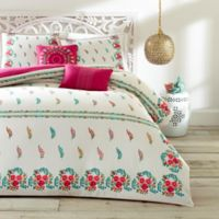 Azalea Skye Myra King Duvet Cover Set in Natural