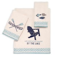Avanti Lake Life Finger Tip Towel in Ivory