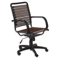 Euro Style® Bungie Office Chair in Brown