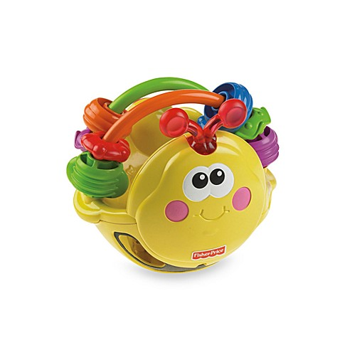 Fisher Price Go Baby Go Gigglin 39 Bee Ball Bed Bath
