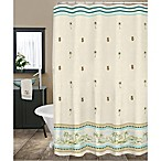 Lenox British Colonial 72-Inch Fabric Shower Curtain