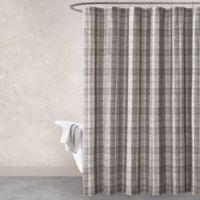 Haus & Haven Turner Shower Curtain in Grey