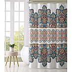 VCNY Home Paola Multicolor Shower Curtain