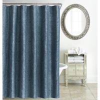 Waterford® Esmerelda Shower Curtain in Indigo
