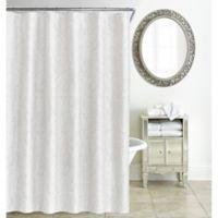 Waterford® Esmerelda Shower Curtain in White