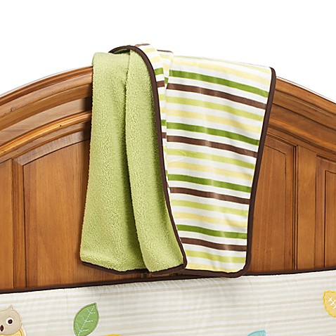 notNeutral® Arbor Friends Velour Sherpa Blanket
