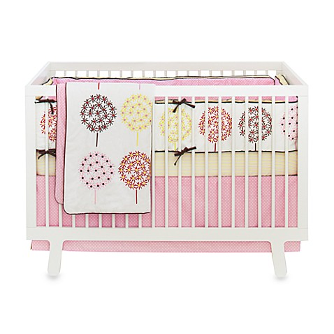 SKIP*HOP® Flower Burst 4-Piece Crib Bedding Set