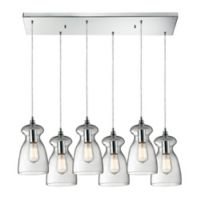 ELK Lighting Menlow Park 6-Light Pendant Light in Polished Chrome