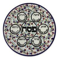Israel Giftware Designs Hand-Painted Ceramic Seder Plate