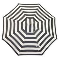 Bellini Resort 9-Foot Market Umbrella in Black/White
