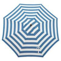 Bellini Resort 9-Foot Market Umbrella in Blue/White