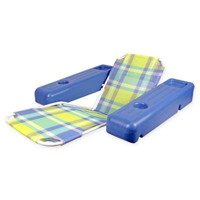 Poolmaster® Caribbean Floating Lounge Chair In Plaid