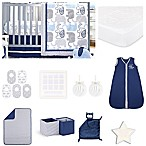 The Peanut Shell® Little Peanut Navy 18-Piece Nursery Essentials Set