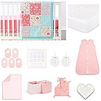 The Peanutshell® Gia 18-Piece Nursery Essentials Set