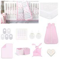 The PeanutShell™ Ellie Pretty Patch 18-Piece Nursery Essentials