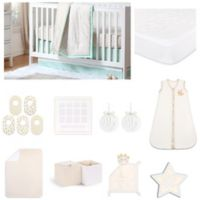 The Peanut Shell™ Minted Confetti 18-Piece Nursery Essentials Set
