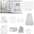 The Peanut Shell® Damask Dot 18-Piece Nursery Essentials Set