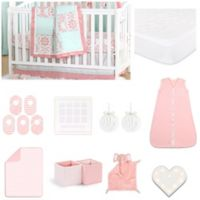 The PeanutShell™ Pretty Patch Medallion 18-Piece Nursery Essential Set