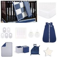The PeanutShell™ Doodle & Dot Patch 18-Piece Nursery Essentials Set