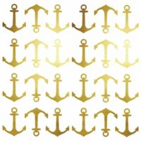 RoomMates® Foil Mini Anchor Peel and Stick Wall Decals in Gold