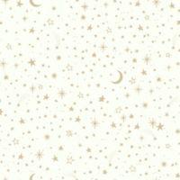RoomMates® Twinkle Little Star Peel & Stick Wallpaper in Gold/White
