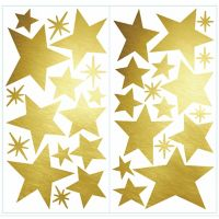 RoomMates® Star Peel & Stick Wall Decals in Gold