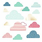 RoomMates® Wild Free Cloud Peel and Stick Wall Decals in Blue