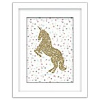 RoomMates® Glitter Unicorn 11-Inch x 14-Inch Framed Wall Art