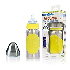 Pacific Baby GoGrow 10 fl. oz. Steel Wide-Neck Infant Feeding Bottle