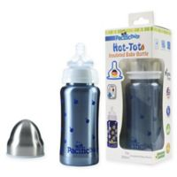 Pacific Baby Hot-Tot 7 fl. oz. Wide-Neck Insulated Baby Bottle in Blueberry