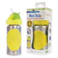 Pacific Baby Hot-Tot 9 fl. oz. Stainless Steel Insulated Toddler Bottle in Silver/Gold