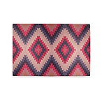 Tribe West Kilim Play Mat in Pink