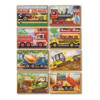 Melissa & Doug® Vehicle And Construction Jigsaw Puzzle Box Bundle (Set of 8)
