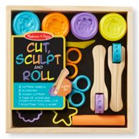 Melissa & Doug® Cut, Sculpt & Roll Clay Play Set