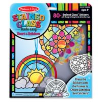Melissa & Doug® Stained Glass Made Easy Rainbow & Hearts Ornaments