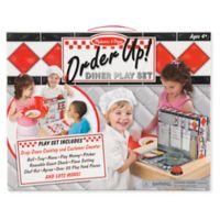Melissa & Doug® Order Up! Diner Playset