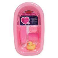 Melissa & Doug® Mine To Love Bathtime Play Set