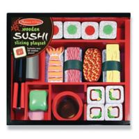 Melissa & Doug® Sushi Slicing 24-Piece Wooden Playset