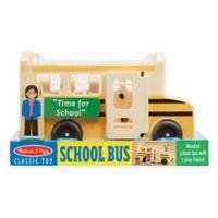 Melissa & Doug® Classic Wooden School Bus