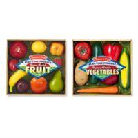 Melissa & Doug® Fruit & Veggies Combo Set