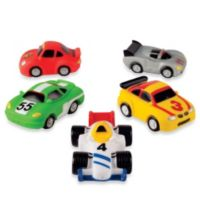 Elegant Baby® Racing Car Squirties Bath Set