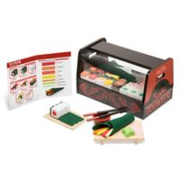 Melissa & Doug® 46-Piece Roll, Wrap & Slice Sushi Counter Playset
