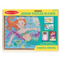 Melissa & Doug® Fanciful Friends Puzzles in a Box (Set of 4)