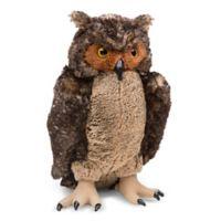 Melissa & Doug® Lifelike Plush Owl Toy