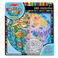 Melissa & Doug® Stained Glass Made Easy Mermaid Craft