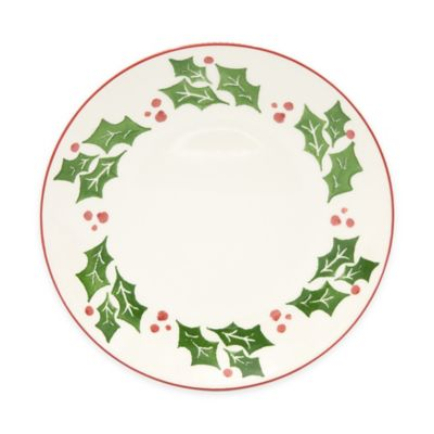 Euro Ceramica Natal Festive Holiday Dinner Plates (Set of 4)  sc 1 st  Bed Bath \u0026 Beyond & Buy Holiday Dinner Plates from Bed Bath \u0026 Beyond