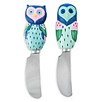 Boston Warehouse® Artsy Owl Spreaders (Set of 2)