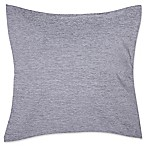 Make-Your-Own-Pillow Chenille 20-Inch Square Throw Pillow Cover in Grey